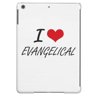Eu amo o EVANGELICAL Capa Para iPad Air