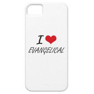 Eu amo o EVANGELICAL Capas Para iPhone 5