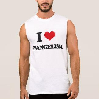 Eu amo o EVANGELISMO Camisas Sem Manga