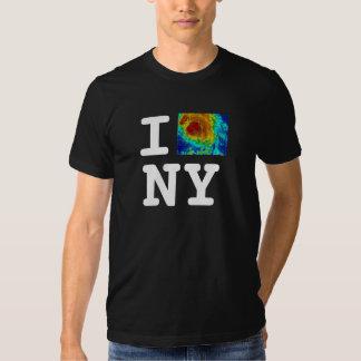 Eu amo o furacão de NY Tshirts