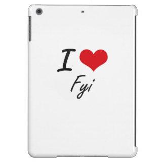 Eu amo o FYI Capa Para iPad Air