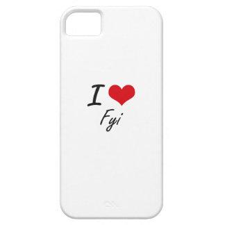 Eu amo o FYI Capas Para iPhone 5