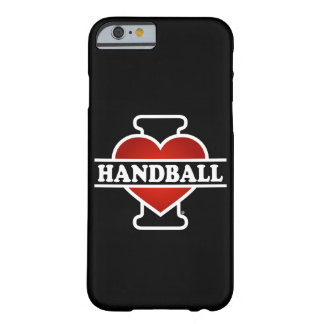 Eu amo o handball capa barely there para iPhone 6