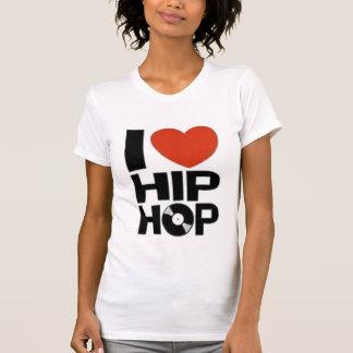 Eu amo o hip-hop camiseta