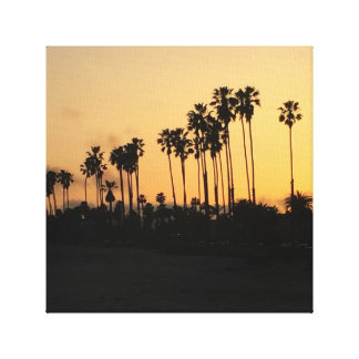 Eu amo o impressão das canvas de Califórnia