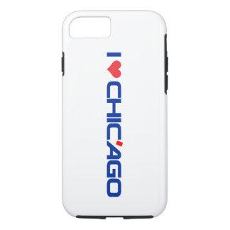 Eu amo o iPhone 7 de Chic'ago Apple, capa de
