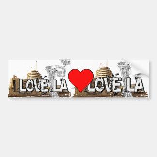 Eu amo o LA - Los Angeles #1 Adesivo Para Carro
