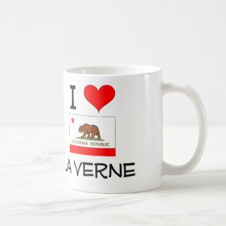 Eu amo o LA VERNE Califórnia Caneca