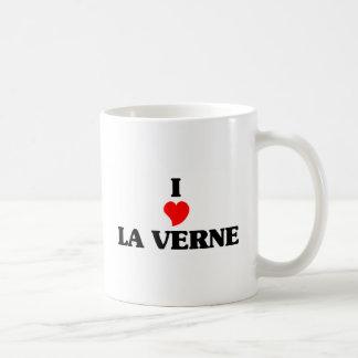Eu amo o La Verne Caneca