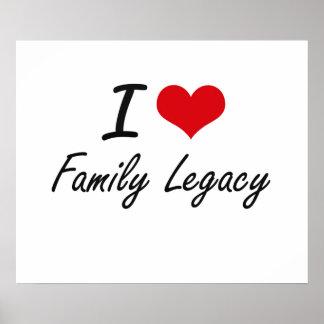 Eu amo o legado da família poster