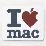 Eu amo o Mac Mouse Pad