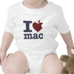 Eu amo o Mac T-shirt