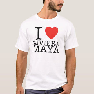Eu amo o Maya de Riviera Camiseta