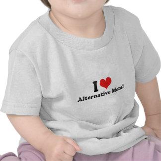 Eu amo o metal alternativo t-shirt