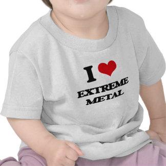 Eu amo o METAL EXTREMO T-shirt
