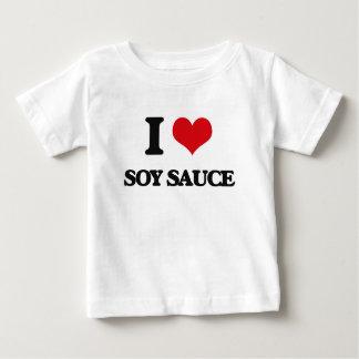 Eu amo o molho de soja camiseta