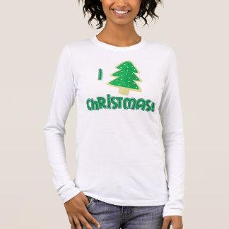 Eu amo o Natal! Camiseta Manga Longa
