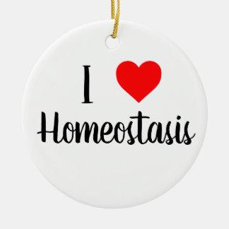 Eu amo o ornamento da homeostase