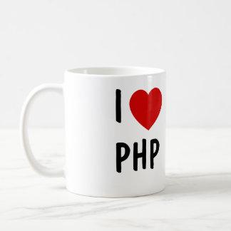 Eu amo o PHP Caneca De Café