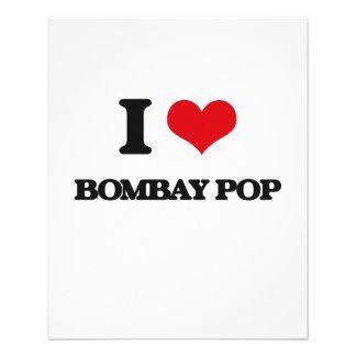 Eu amo o POP de BOMBAIM Panfletos