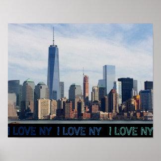 EU AMO o poster de NY