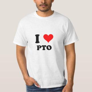 Eu amo o Pto T-shirts