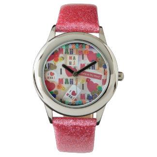 Eu amo o relógio de Mahj