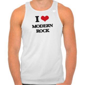 Eu amo o ROCK MODERNO Camiseta
