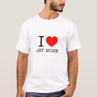 Eu amo o ruído do jato camiseta