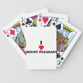 Eu amo o Sc agradável da montagem Baralhos De Poker