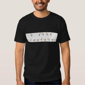 Eu amo o Semaphore no Semaphore Camisetas