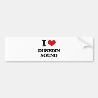 Eu amo o SOM de DUNEDIN Adesivos