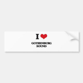Eu amo o SOM de GOTHENBURG Adesivos