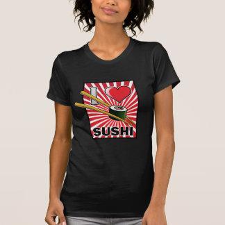Eu amo o sushi! camisetas