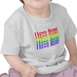 Eu amo o t-shirt de Jesus