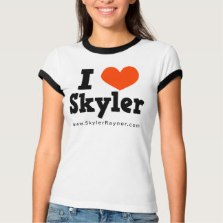 Eu amo o t-shirt de Skyler