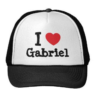 Eu amo o t-shirt do coração de Gabriel Boné