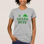 eu amo o t-shirt irlandês dos meninos