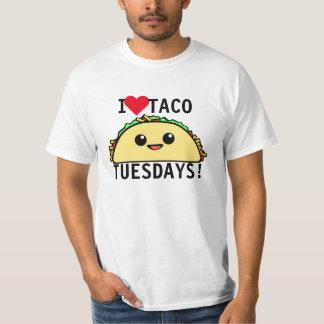 Eu amo o Taco terças-feiras Camiseta