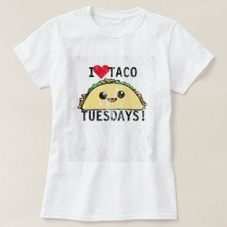 Eu amo o Taco terças-feiras DS Camiseta