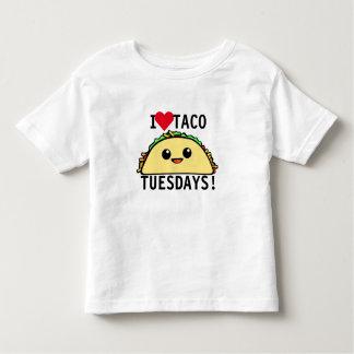 Eu amo o Taco terças-feiras Tshirts