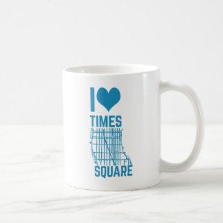 Eu amo o Times Square Caneca De Café