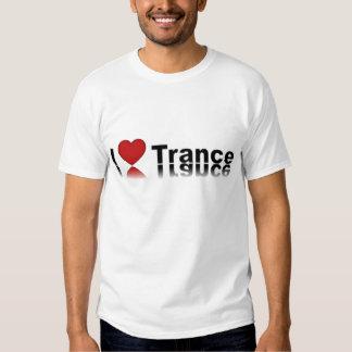 Eu amo o trance t-shirts