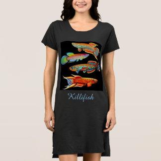 Eu amo o vestido das senhoras do Killifish