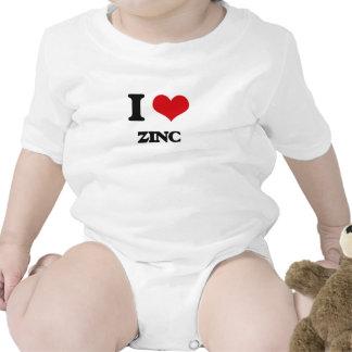 Eu amo o zinco babador