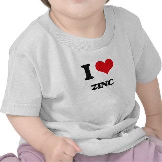 Eu amo o zinco t-shirt