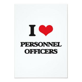 Eu amo oficiais de pessoais convite 12.7 x 17.78cm