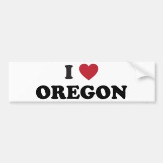 Eu amo Oregon Adesivo Para Carro