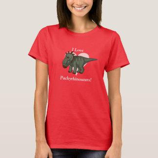 Eu amo Pachyrhinosaurs! Camiseta