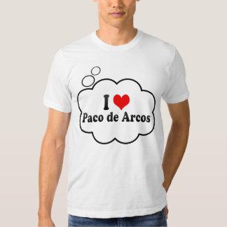 Eu amo Paco de Arcos, Portugal Camiseta